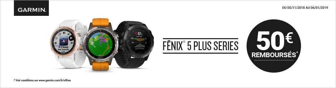 ODR Garmin Fénix 5 Plus