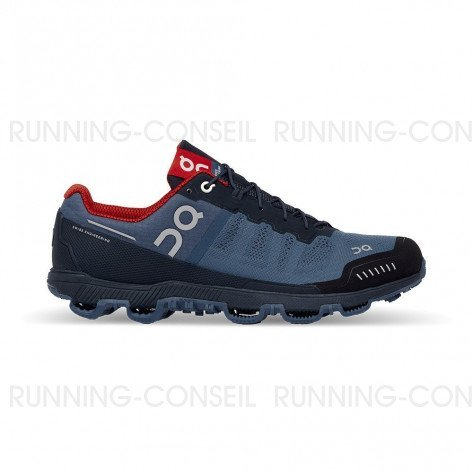 ON RUNNING Cloudventure Homme Fjord | Navy | Collection Automne Hiver 2018
