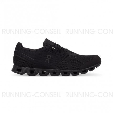 ON RUNNING Cloud Femme All Black | Collection Automne Hiver 2018