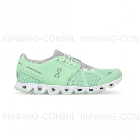ON RUNNING Cloud Femme Mint | Collection Automne Hiver 2018