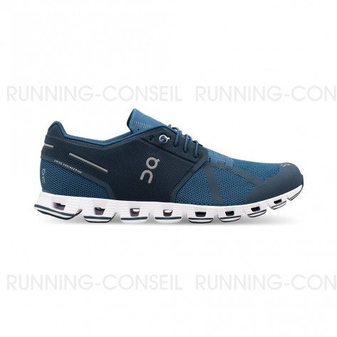 ON RUNNING Cloud Homme Blue | Denim | Collection Automne Hiver 2018