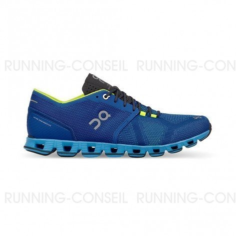 ON RUNNING Cloud X Homme Water | Blues | Collection Automne Hiver 2018
