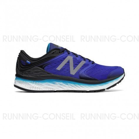 NEW BALANCE Fresh Foam 1080v8 Homme Pacific with Black / Maldives Blue Profil Extérieur
