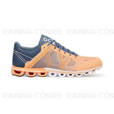 ON RUNNING Cloudflow Femme Almond   Grey   Collection Automne Hiver 2018