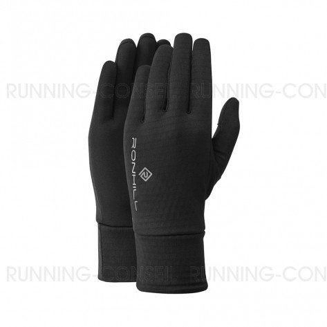 RONHILL Gants Run Matrix | All Black