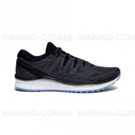 SAUCONY FREEDOM ISO 2 Femme | Black | Collection Automne Hiver 2018