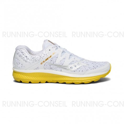 SAUCONY GUIDE Homme | White Noise | Collection Automne Hiver 2018