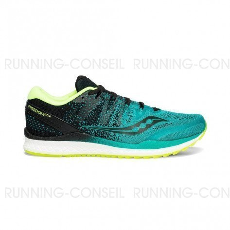 SAUCONY FREEDOM ISO 2 Homme | Teal / Black