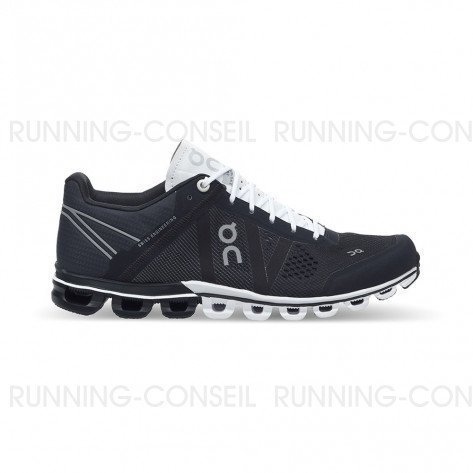 On RUNNING Cloudflow Femme Black I White | Collection Automne Hiver 2018