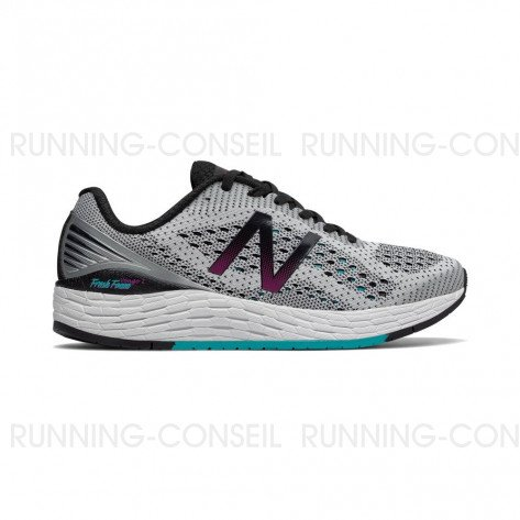 NEW BALANCE Fresh Foam Vongo v2 Femme White with Pisces Profil Extérieur
