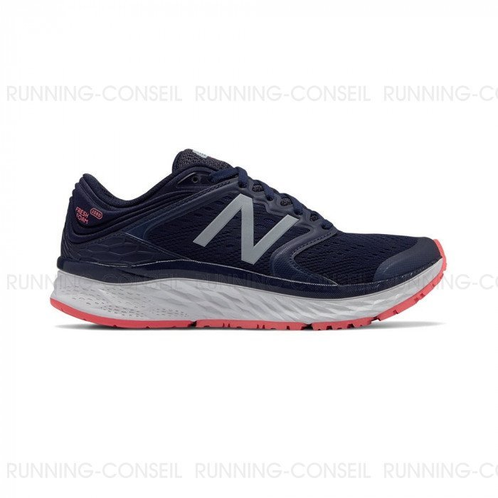 revendeur 71fc7 ff820 New Balance Fresh Foam 1080v8 Femme | Pigment with Pink Zing ...