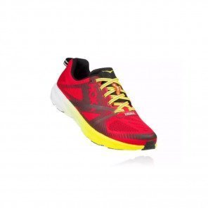HOKA Tracer 2 - Homme - True Red / Black 3/4