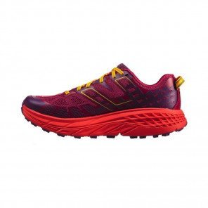 HOKA Speedgoat 2 - Femme - Cherries Jubilee / Purple Passion