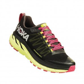 HOKA CHALLENGER ATR 4 Femme | Black / Sharp Green | Collection Automne Hiver 2018