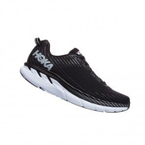 HOKA CLIFTON 5 Homme Black / White