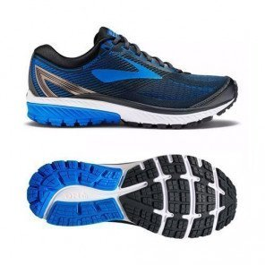 BROOKS GHOST 10 Ebony Metallic Charcoal homme