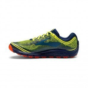 BROOKS PureGrit 6 Homme Noir / Jaune / Orange