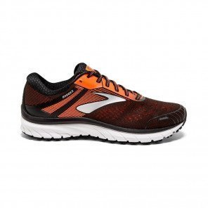 BROOKS ADRENALINE GTS 18 Homme - Black/Orange/Ebony