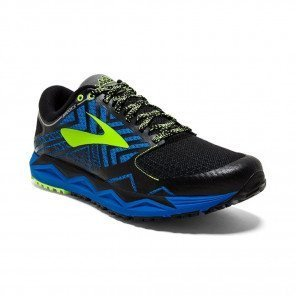 BROOKS CALDERA 2 Homme Blue/Black/Lime | Collection Automne Hiver 2018