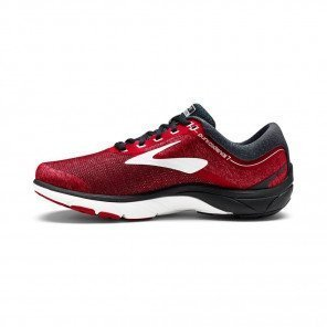 BROOKS PureCadence 7 Homme Rouge / Noir / Blanc