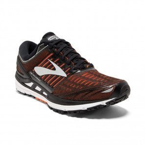 BROOKS TRANSCEND 5 Homme Black/Orange/Silver | Collection Automne Hiver 2018