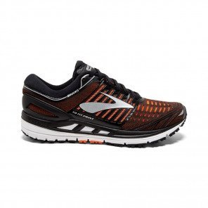 BROOKS TRANSCEND 5 Homme Black/Orange/Silver