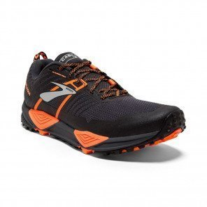 BROOKS CASCADIA 13 Homme Grey/Black/Orange | Collection Automne Hiver 2018