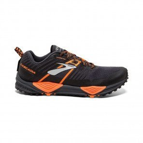 BROOKS CASCADIA 13 Homme Grey/Black/Orange