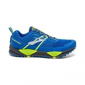 BROOKS CASCADIA 13 Homme Blue/Black/Lime
