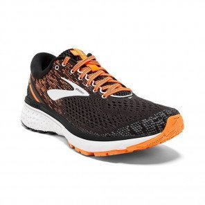 BROOKS GHOST 11 Homme (Black/Silver/Orange) Automne Hiver 2018