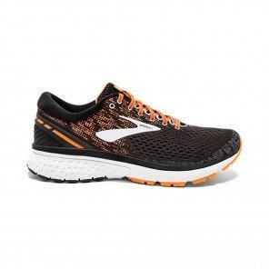 BROOKS GHOST 11 Homme - Black/Silver/Orange