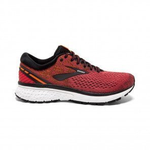 BROOKS GHOST 11 Homme - Red/Black/Orange