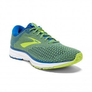 BROOKS REVEL 2 Homme Blue/Lime/White | Collection Automne Hiver 2018