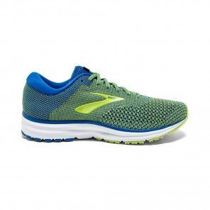 BROOKS REVEL 2 Homme Blue/Lime/White