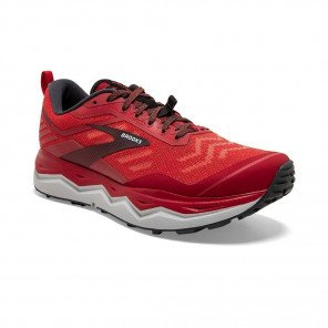 BROOKS CALDERA 4 Homme | High Risk Red/Ebony/Grey