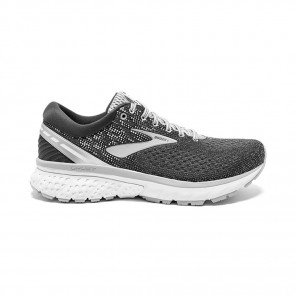 BROOKS GHOST 11 Femme - Ebony/Grey/Silver