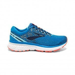 BROOKS GHOST 11 Femme - Blue/Navy/Coral