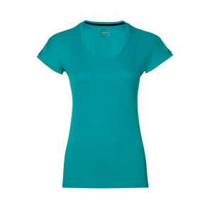 ASICS Tee-shirt manches courtes CapsLeeve Femme Bleu Turquoise Face