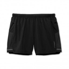 "BROOKS Short Sherpa 5"" Homme Noir"