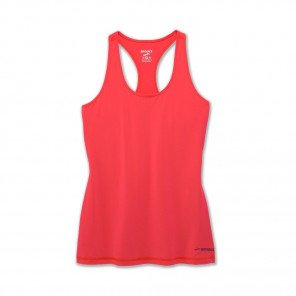 BROOKS Débardeur Pick-up Tank Femme Rose Face
