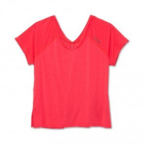 BROOKS Tee-shirt manches courtes Ghost Femme Rose Face
