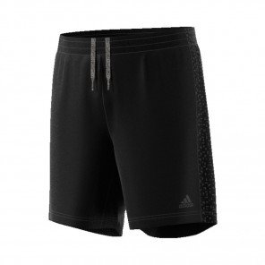 ADIDAS Short Supernova Homme Noir Face
