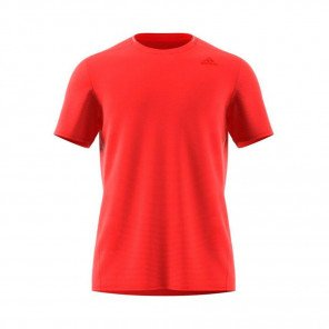 ADIDAS Tee-shirt manches courtes Supernova Homme Rouge Face