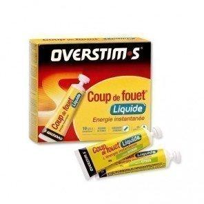 Coup de fouet liquide citron Overstim's - Gels énergétiques
