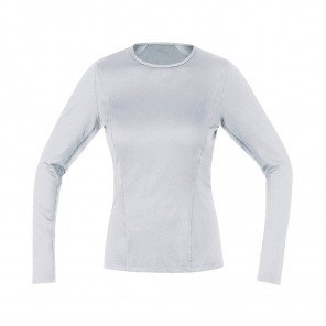 GORE® BASE LAYER MAILLOT MANCHES LONGUES FEMME | WHITE | Collection Printemps-Été 2019