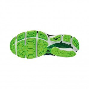 MIZUNO WAVE HORIZON 2 Homme | Turkish Tile/Black/Green Gecko