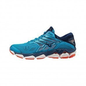 MIZUNO WAVE HORIZON 2 Femme Hawaiian Ocean/Estate Blue/Fiery Coral | Collection Automne Hiver 2018