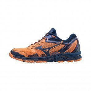 MIZUNO WAVE DAICHI Femme Bird of Paradise/Estate Blue/Georgia Peach | Collection Automne Hiver 2018