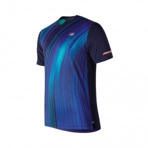 NEW BALANCE Tee-shirt manches courtes Printed 2.0 Homme Pigment Face