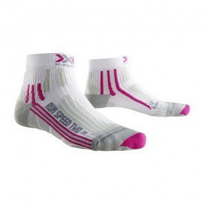 X-Socks Run Speed Two Femme Blanc Fushia X020436_B048